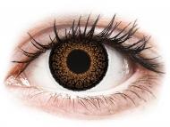Lentile de contact Maxvue Vision - ColourVUE Eyelush Brown - fără dioptrie (2lentile)