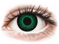 Lentile colorate cu dioptrie - ColourVUE Eyelush Green - cu dioptrie (2lentile)