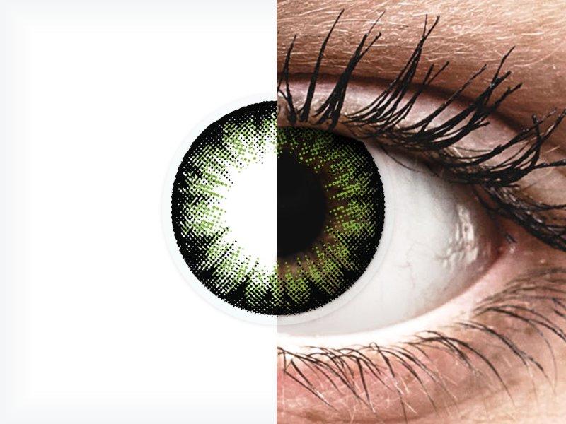 ColourVUE BigEyes Party Green - fără dioptrie (2lentile) - ColourVUE BigEyes Party Green - fără dioptrie (2lentile)
