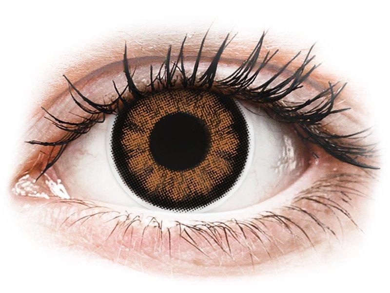 ColourVUE BigEyes Sexy Brown - cu dioptrie (2lentile) - Lentile colorate