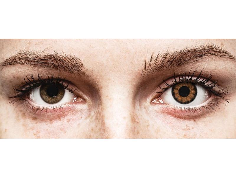 ColourVUE BigEyes Sexy Brown - fără dioptrie (2lentile) - ColourVUE BigEyes Sexy Brown - fără dioptrie (2lentile)