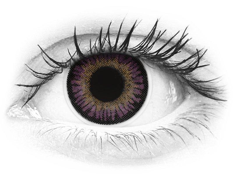 ColourVUE 3 Tones Violet - fără dioptrie (2lentile) - ColourVUE 3 Tones Violet - fără dioptrie (2lentile)