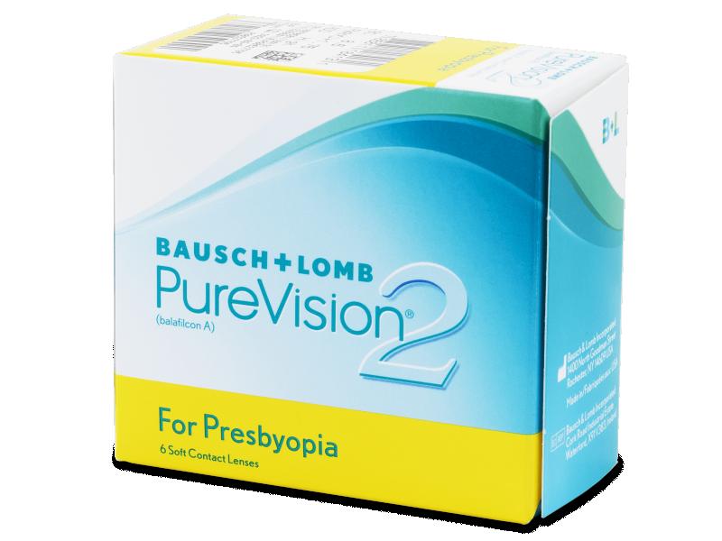 Purevision 2 for Presbyopia (6lentile) - Lentile de contact multifocale