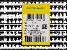 Purevision 2 for Presbyopia (6lentile) - vizualizare parametrii