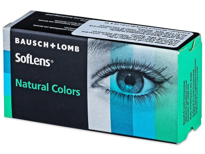SofLens Natural Colors Aquamarine - cu dioptrie (2 lentile)