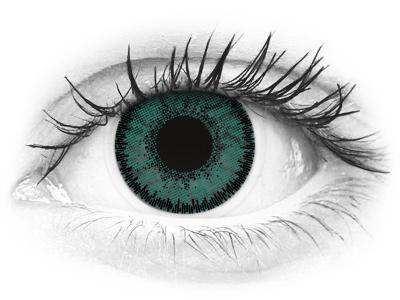 SofLens Natural Colors Jade - fără dioptrie (2 lentile)