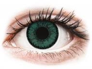 Lentile de contact verzi - cu dioptrie - SofLens Natural Colors Jade - cu dioptrie (2 lentile)