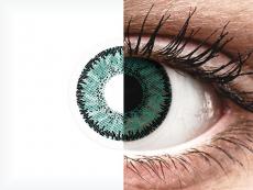 SofLens Natural Colors Jade - cu dioptrie (2 lentile)