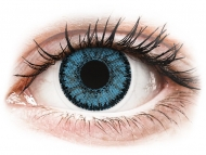 Lentile de contact albastre - fără dioptrie - SofLens Natural Colors Pacific - fără dioptrie (2 lentile)