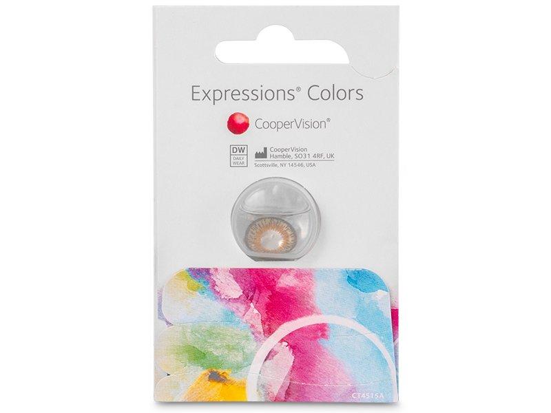 Expressions Colors Aqua - cu dioptrie (1 lentilă)