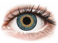 Lentile de contact Cooper Vision - Expressions Colors Blue - cu dioptrie (1 lentilă)