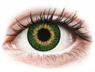 Lentile de contact verzi - cu dioptrie - Expressions Colors Green - cu dioptrie (1 lentilă)