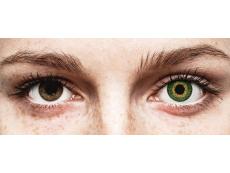 Expressions Colors Green - cu dioptrie (1 lentilă)