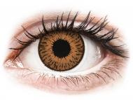 Lentile de contact Cooper Vision - Expressions Colors Hazel - cu dioptrie (1 lentilă)
