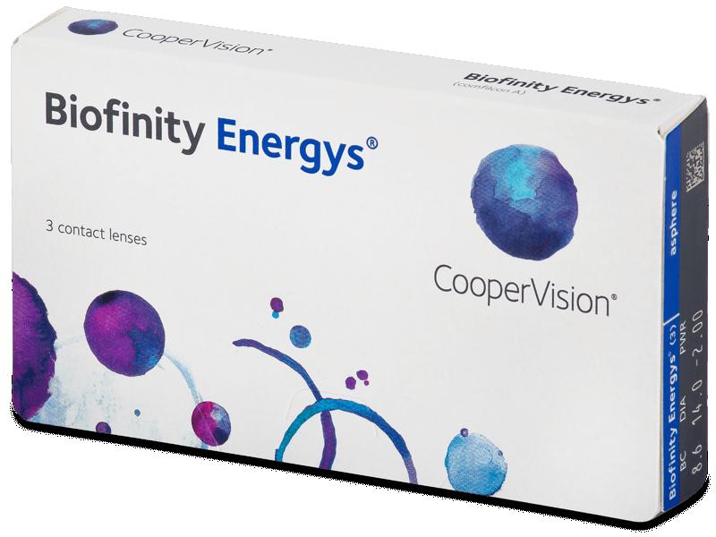 Biofinity Energys (3 lentile) - Lentile de contact lunare