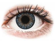Lentile de contact albastre - cu dioptrie - FreshLook ColorBlends Blue - cu dioptrie (2 lentile)