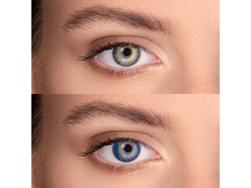 FreshLook ColorBlends Blue - cu dioptrie (2 lentile)