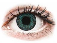 Lentile de contact albastre - cu dioptrie - FreshLook ColorBlends Brilliant Blue - cu dioptrie (2 lentile)