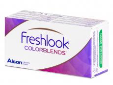 FreshLook ColorBlends Brilliant Blue - cu dioptrie (2 lentile)