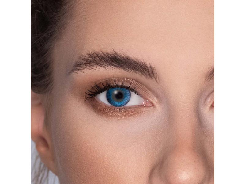FreshLook ColorBlends Brilliant Blue - fără dioptrie (2 lentile)