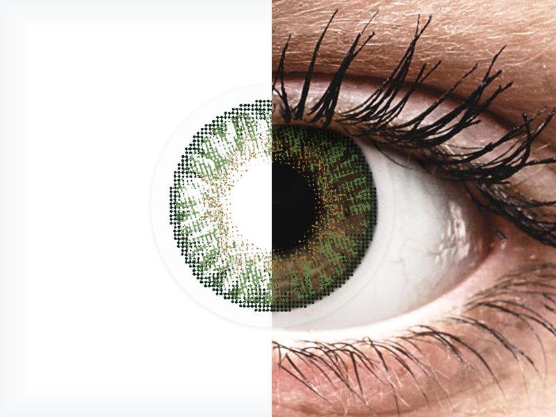 FreshLook ColorBlends Gemstone Green - cu dioptrie (2 lentile)
