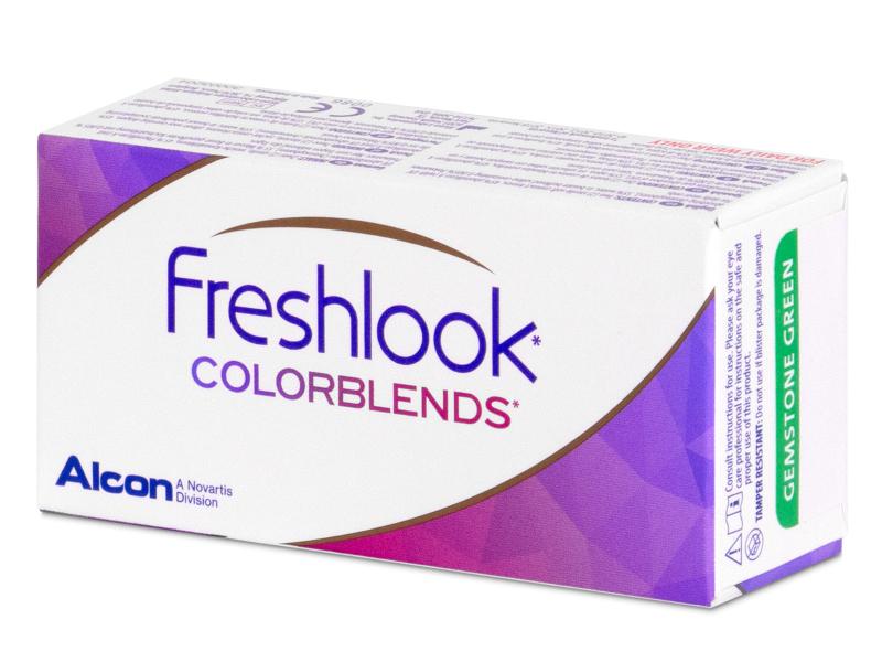 FreshLook ColorBlends Grey - cu dioptrie (2 lentile)