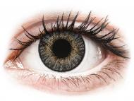 Lentile de contact gri - fără dioptrie - FreshLook ColorBlends Grey - fără dioptrie (2 lentile)