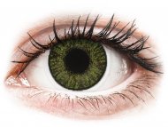 Lentile de contact verzi - cu dioptrie - FreshLook ColorBlends Green - cu dioptrie (2 lentile)