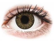 Lentile de contact maro - cu dioptrie - FreshLook ColorBlends Pure Hazel - cu dioptrie (2 lentile)