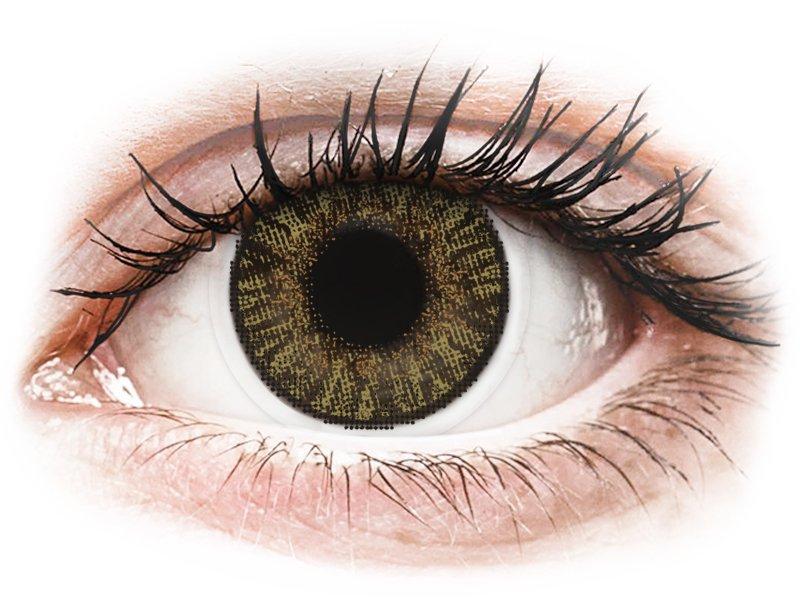 FreshLook ColorBlends Pure Hazel - cu dioptrie (2 lentile)