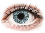 Lentile de contact albastre - fără dioptrie - FreshLook Colors Blue - fără dioptrie (2 lentile)