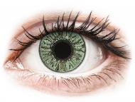 Lentile de contact verzi - cu dioptrie - FreshLook Colors Green - cu dioptrie (2 lentile)