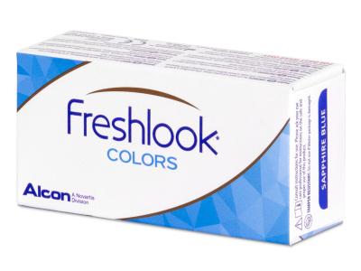 FreshLook Colors Green  - fără dioptrie (2 lentile)