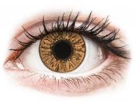 Lentile de contact maro - fără dioptrie - FreshLook Colors Hazel - fără dioptrie (2 lentile)