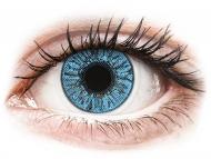 Lentile de contact albastre - cu dioptrie - FreshLook Colors Sapphire Blue - cu dioptrie (2 lentile)