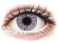 Lentile de contact mov - fără dioptrie - FreshLook Colors Violet - fără dioptrie (2 lentile)