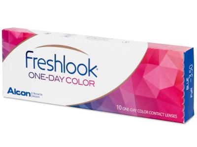 FreshLook One Day Color Blue - fără dioptrie (10 lentile)
