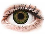 Lentile de contact Alcon - FreshLook One Day Color Green - fără dioptrie (10 lentile)