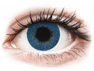 Lentile de contact albastre - fără dioptrie - FreshLook Dimensions Pacific Blue - fără dioptrie (2 lentile)