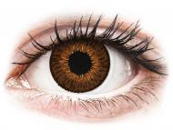 Lentile de contact maro - cu dioptrie - Expressions Colors Brown - cu dioptrie (1 lentilă)