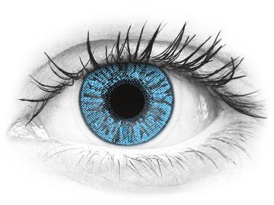 FreshLook Colors Sapphire Blue - fără dioptrie (2 lentile)