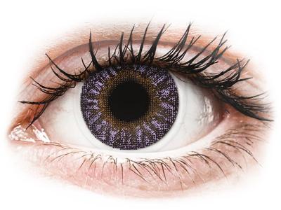 TopVue Color - Violet - fără dioptrie (2 lentile)