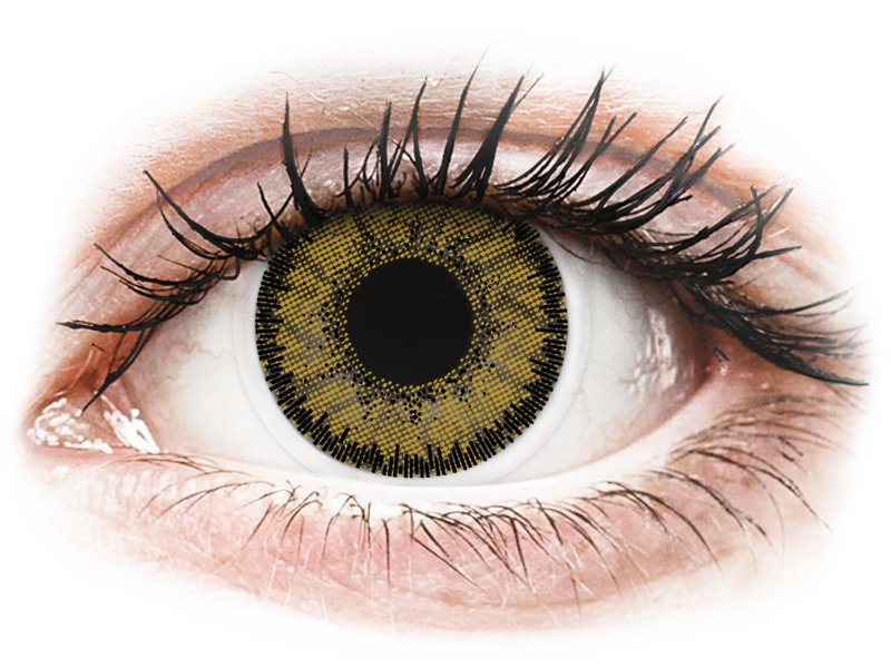 SofLens Natural Colors Dark Hazel - cu dioptrie (2 lentile)