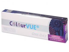 ColourVue One Day TruBlends Hazel - cu dioptrie (10 lentile)