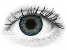 ColourVue One Day TruBlends Blue - cu dioptrie (10 lentile)