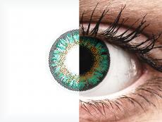ColourVue One Day TruBlends Rainbow 2 - fără dioptrie (10 lentile) - ColourVue One Day TruBlends - Rainbow 2 - Turquoise