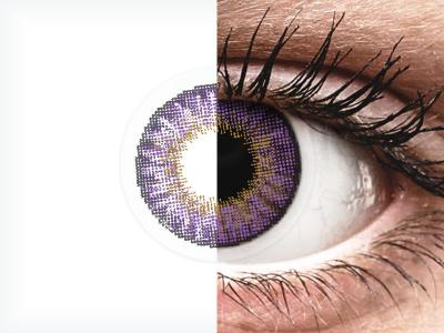Air Optix Colors - Amethyst - fără dioptrie (2 lentile)