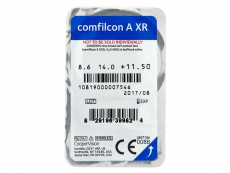 Biofinity XR (3 lentile) - vizualizare ambalaj