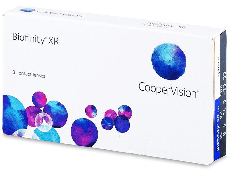 Biofinity XR (3 lentile) - Lentile de contact lunare