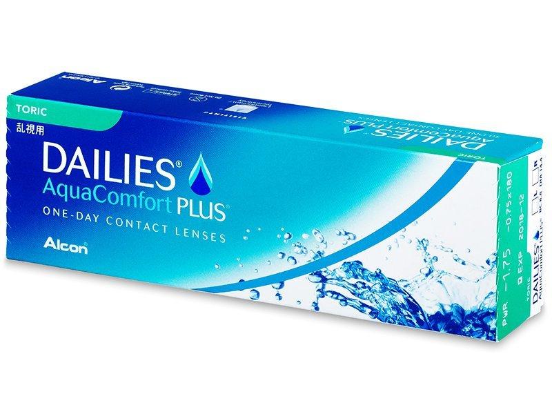 Dailies AquaComfort Plus Toric (30lentile) - Lentile de contact pentru astigmatism
